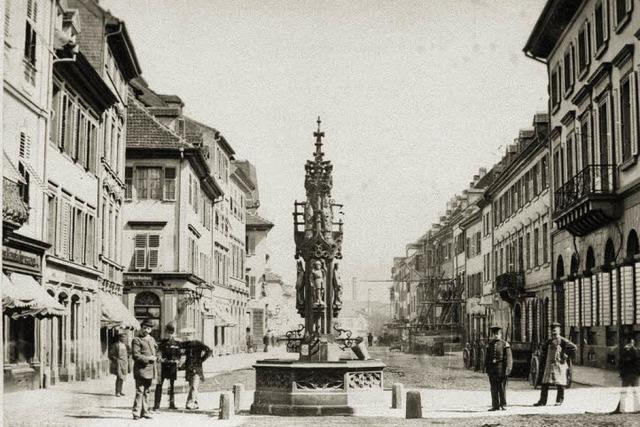 Freiburg auf dem Weg zur Großstadt