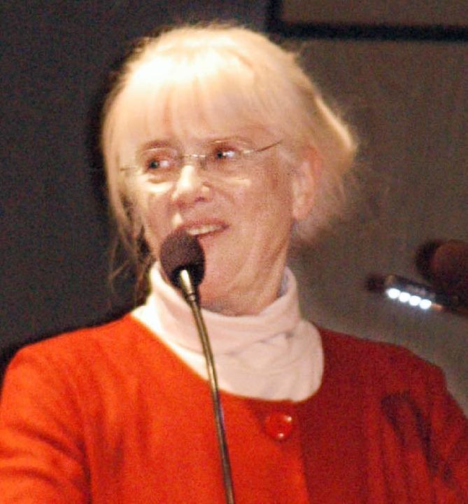 AWO-Vorsitzende Ilsemie Dumont  | Foto: Leony Stabla