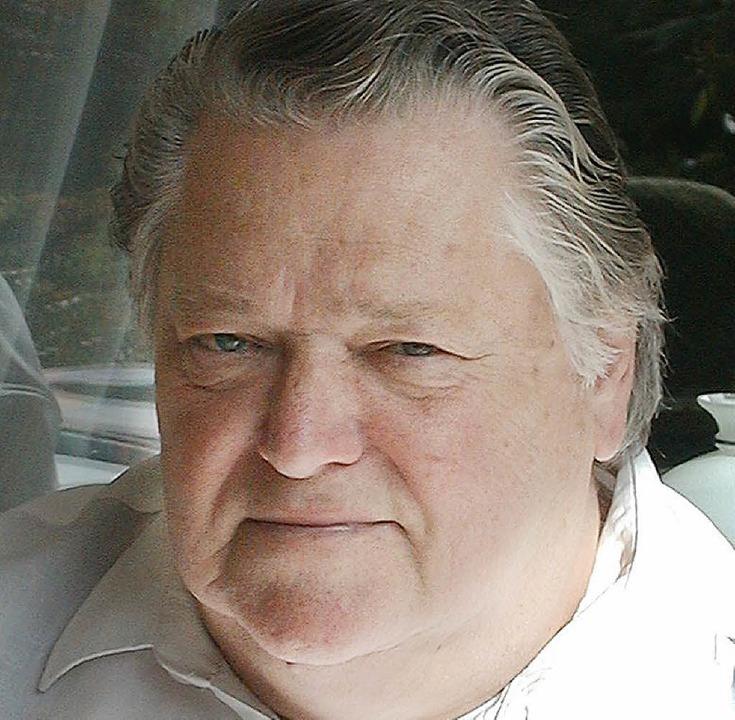 Alfred Schmidt ist vor wenigen Tagen im Alter von 76 Jahren gestorben.    | Foto: G. Diehl