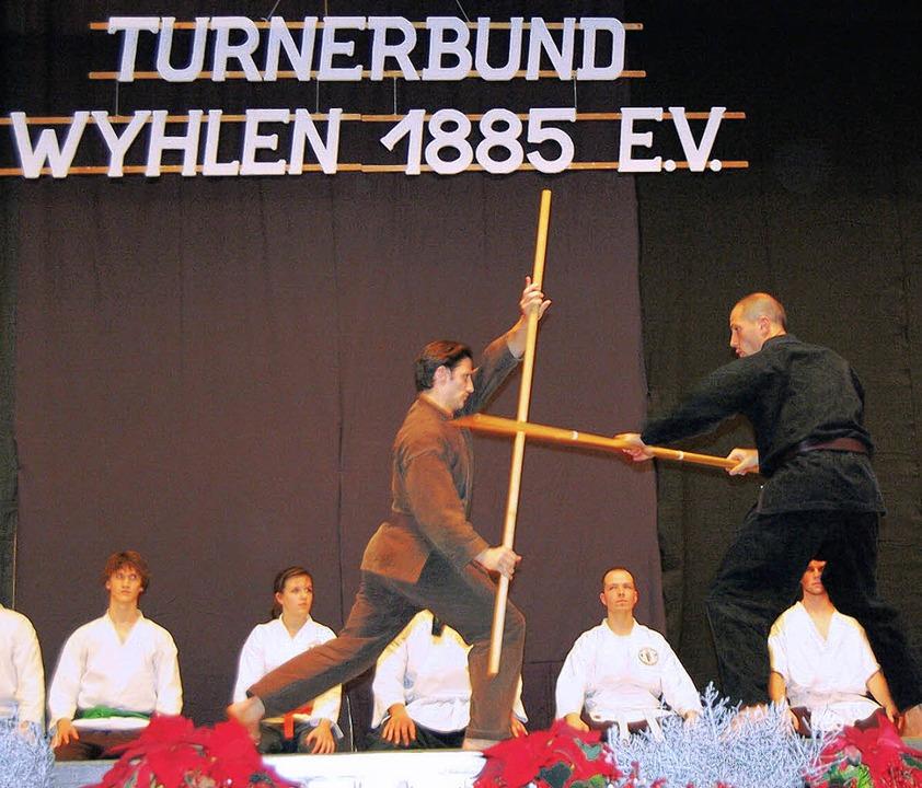 Auch die Shaolin-Kempo-Kämpfer präsent...r Jahresfeier von ihrer besten Seite.   | Foto: Heinz Vollmar