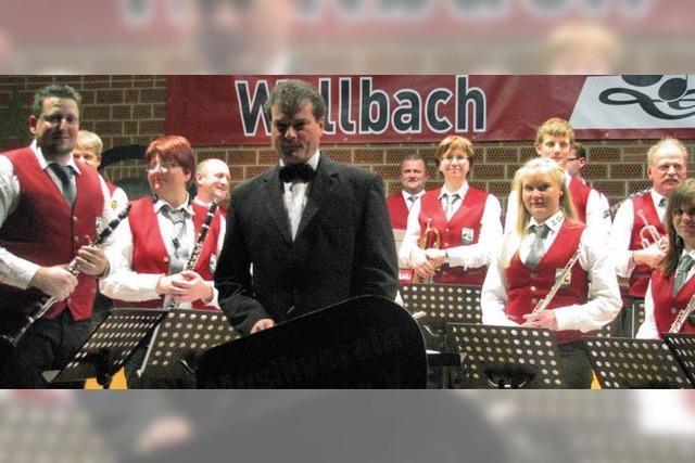 Musikverein Wallbach wartete mit zwei Premieren auf