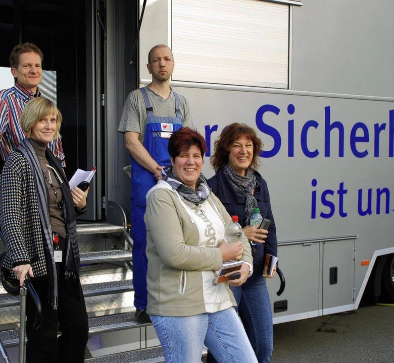 Wichtiges Thema für Würth Elektronik i...ch Experten der Berufsgenossenschaft.   | Foto: Edgar Steinfelder