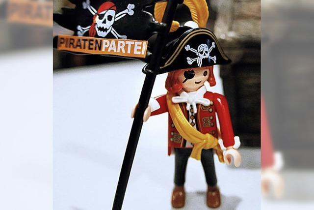 Die Piraten kämpfen um den Kurs