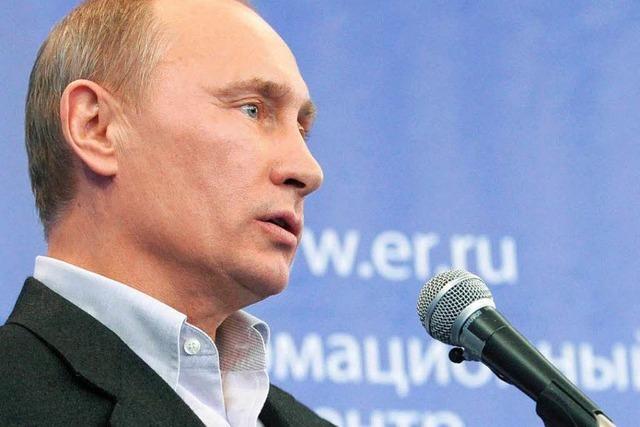 Absolute Mehrheit für Putin-Partei – trotz Verlusten