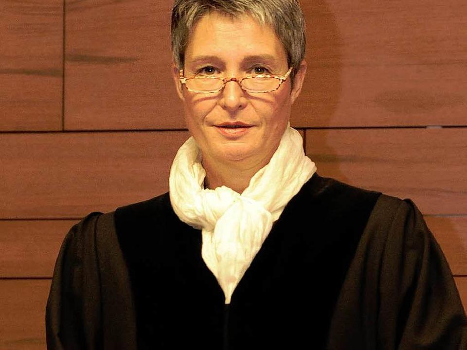 Die Vorsitzende Richterin Eva Kleine-Cosack leitet das Verfahren.  | Foto: dapd