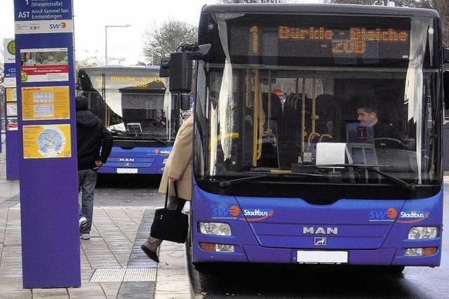 Größeres Busangebot an Samstagen