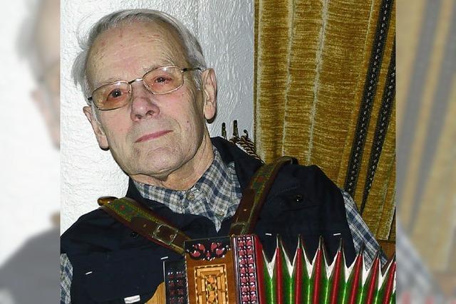 Die Musik begleitet ihn seit acht Jahrzehnten