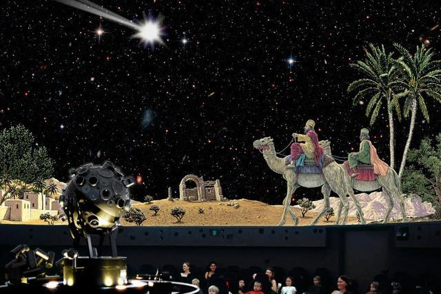 Weihnachten im Planetarium
