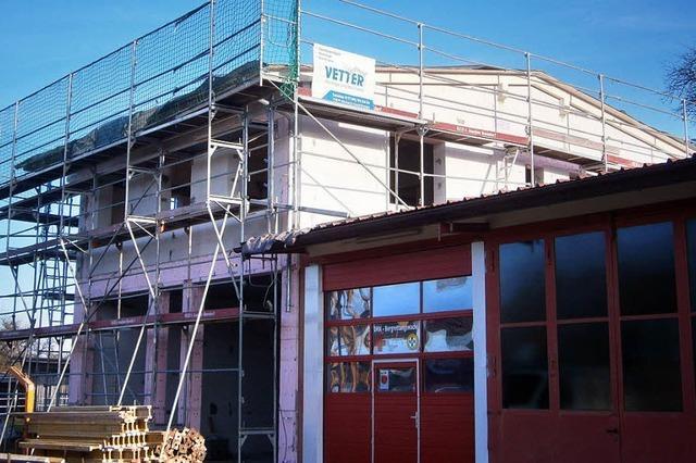 Bau der neuen Rettungswache kommt gut voran