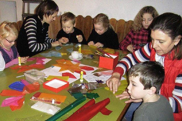 Pfarreiheim wird zur Weihnachtswerkstatt