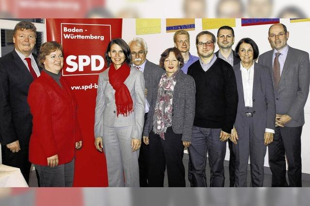 SPD-Kreisverband: Traumergebnis für Rita Schwarzelühr-Sutter