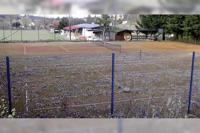 Tennisabteilung des Sportvereins löst sich auf