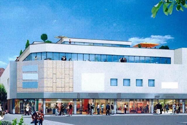 In Lahr beginnt der Umbau im ehemaligen Kaufhaus Krauss