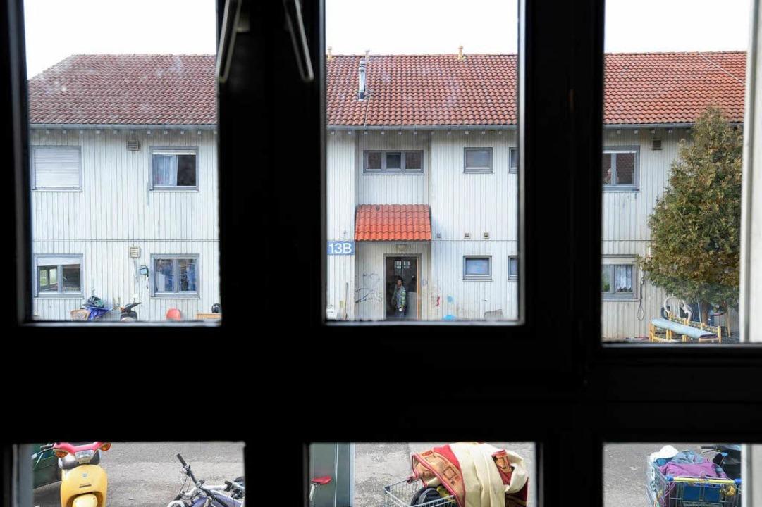 Aussicht auf mehr Räume: Neben dem Flü...et Nord sollen bald  Container stehen.  | Foto: Ingo schneider