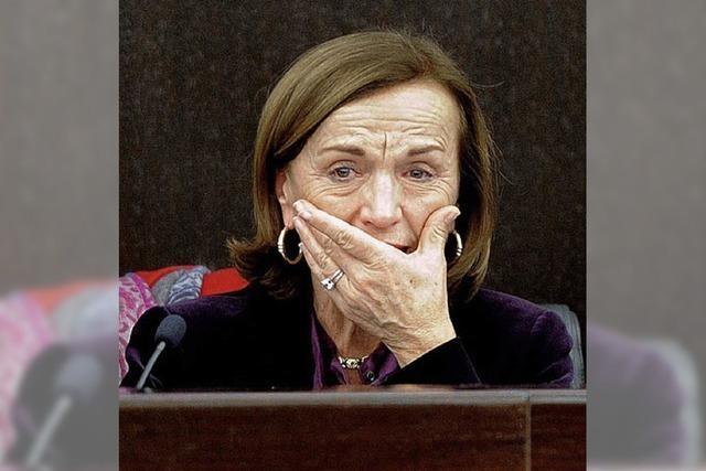 Die Tränen der Sozialministerin