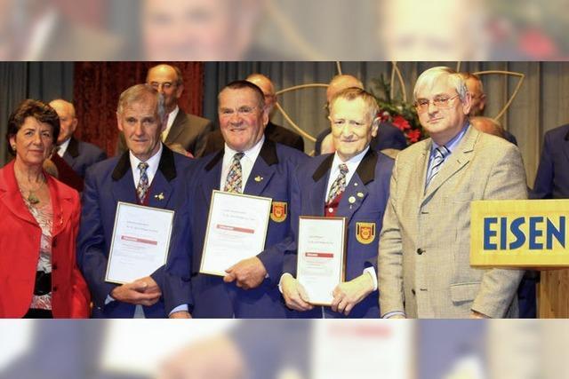 50 und 60 Jahre im Gesangverein