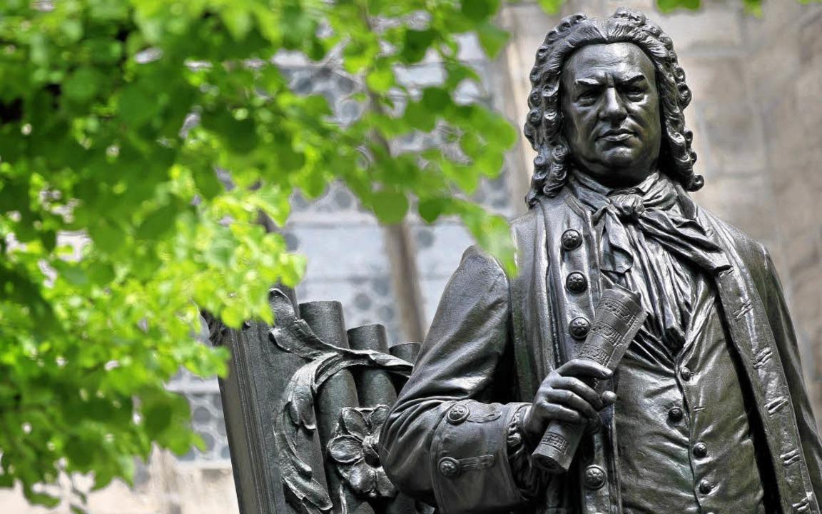 Bach als Denkmal   | Foto: DPA