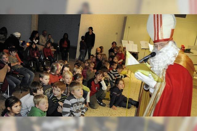 Große Nikolausfeier zugunsten Kinderhospizarbeit