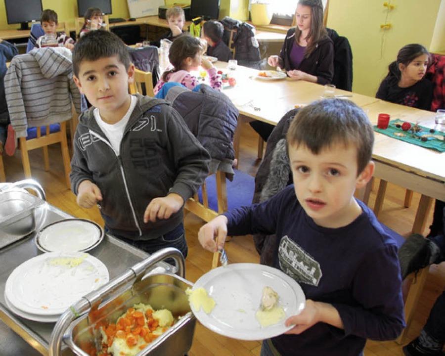 Das Angebot an der Rheinschule wird ausgebaut.     Foto: Lauber