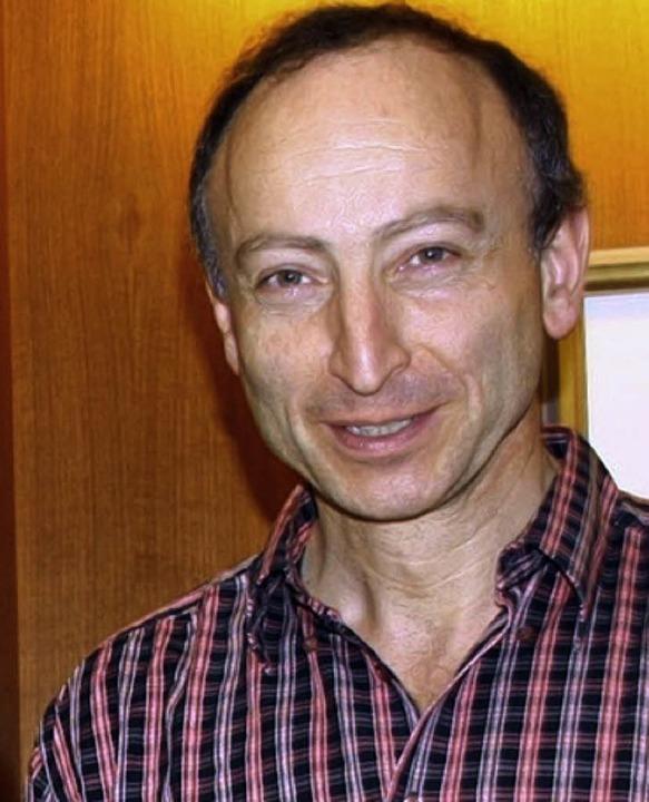 Markus Wagner steht seit 25 Jahren am ... des Musikvereins Heimatklang Hütten.     Foto: BZ