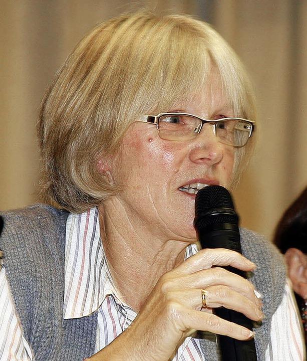 Rücktritt: Christa Dietz gab ihr Amts als Ortsvorsteherin von Schmieheim ab.  | Foto: Fössel