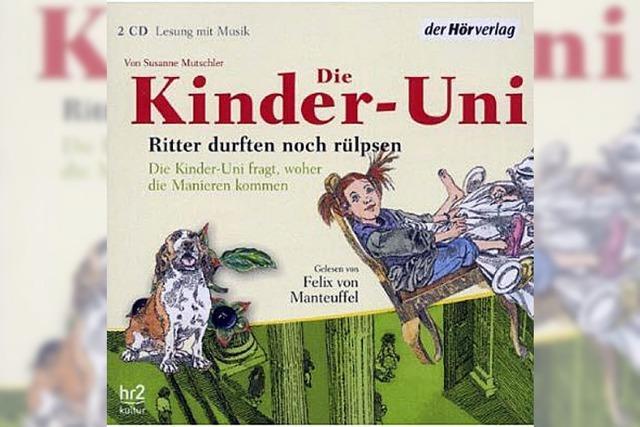 KINDERHÖRBUCH: Die Geschichte der Benimmregeln