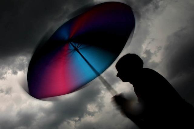 Experten warnen vor Unwetter in Südbaden