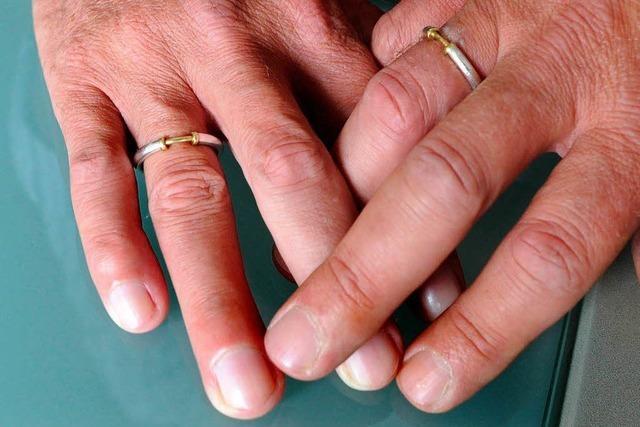 Homosexuelle Paare dürfen jetzt auch auf dem Standesamt