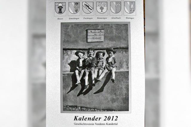 Der Kalender 2012 ist der letzte