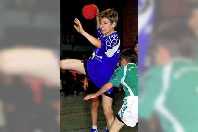 Großer Wurf beim Handballnachwuchs