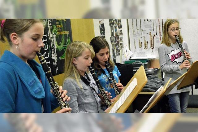Klarinettenspiel auf Level 2 und 3