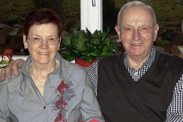 Seit 50 Jahren sind sie Mann und Frau