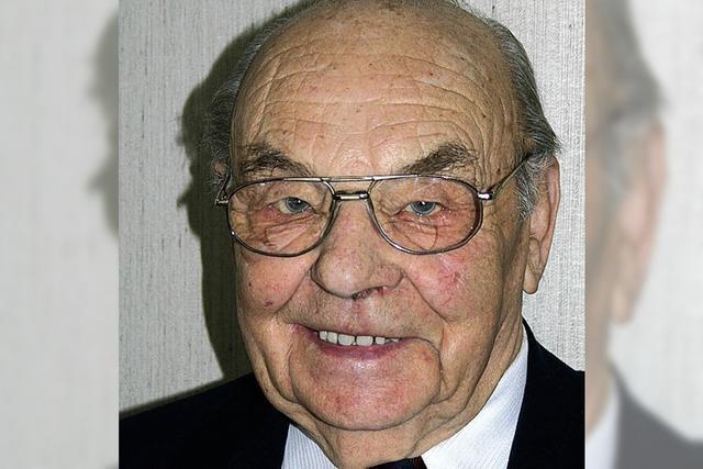 Johann Höfler stirbt mit 96 Jahren