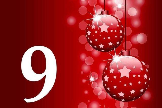 9. Dezember 2011: Die gute Nachricht aus Südbaden