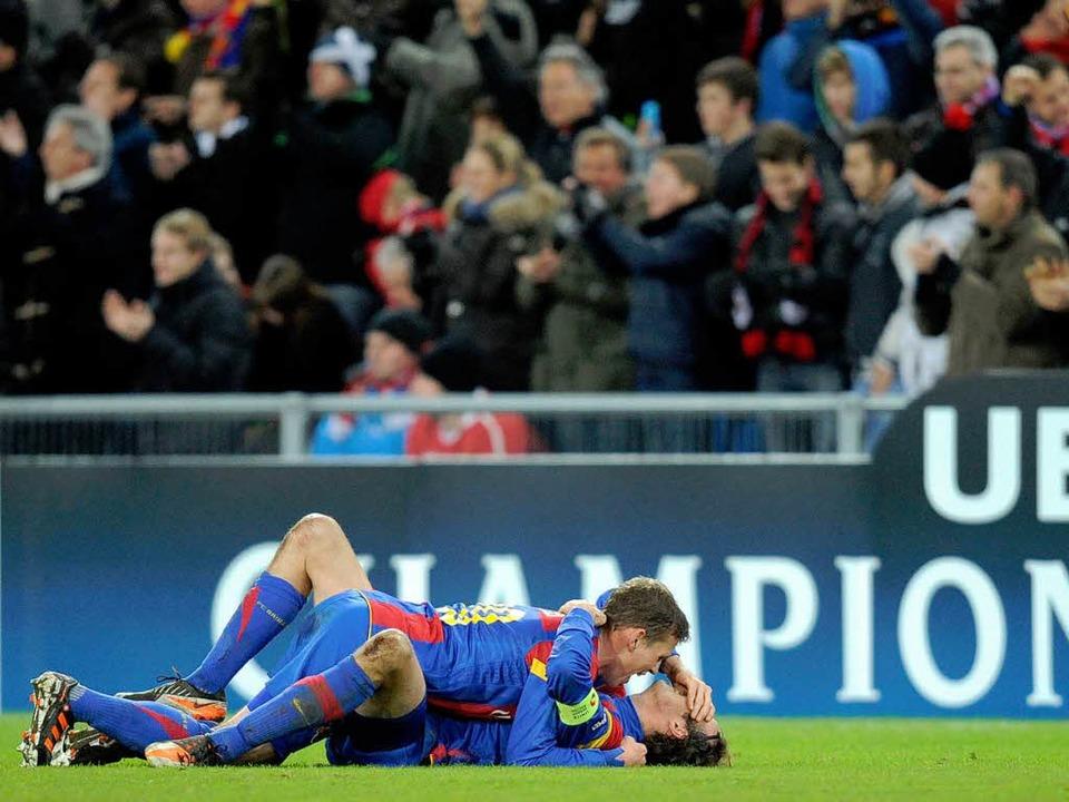 Kaum zu glauben, aber wahr:  Marco Str...l auch im neuen Jahr bei den Champions  | Foto: AFP