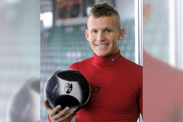 Jonathan Schmid möchte mit dem SC Freiburg durchstarten