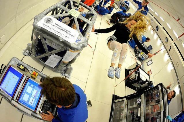 Uni Freiburg testet Spielkonsolen für fitte Astronauten