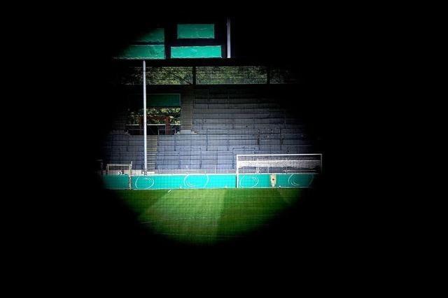 Raumplaner zum SC-Stadion: