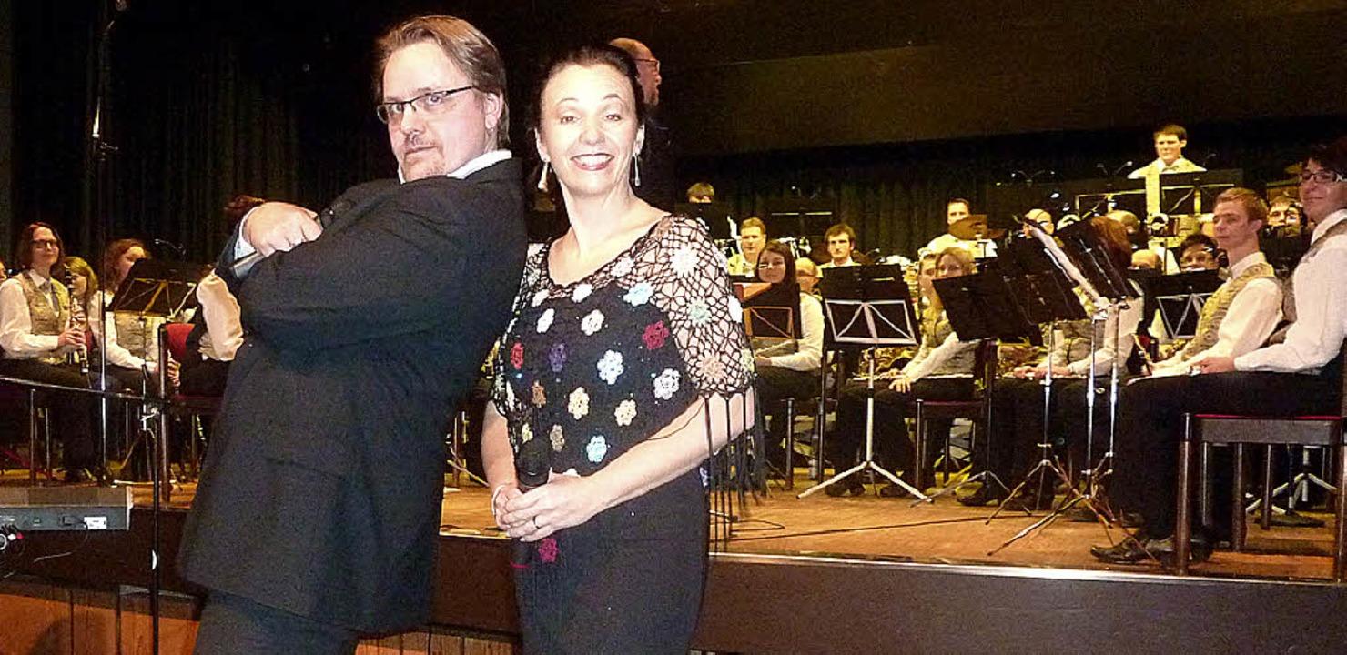 Besondere Leistungen boten die Gesangs...n Annette Rappenecker und Rainer Lenz.  | Foto: Karla Scherer