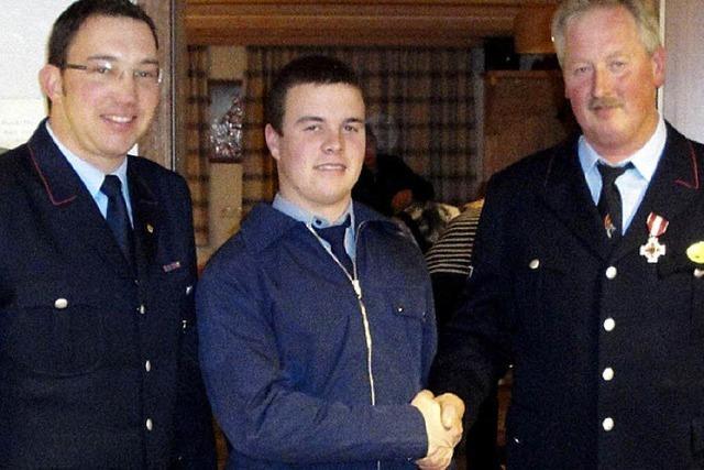 Jugend stärkt die aktive Feuerwehr-Abteilung