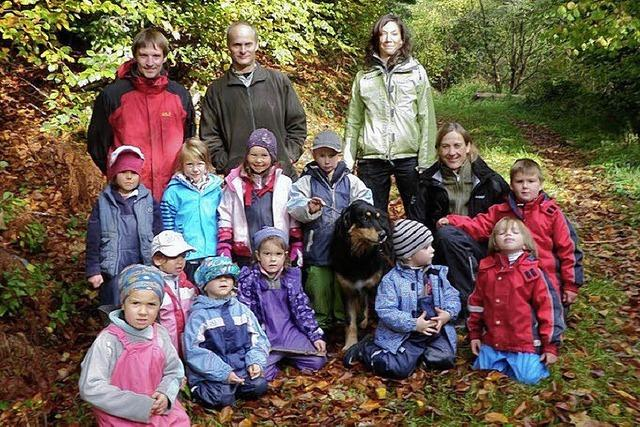 Expedition in den Wald