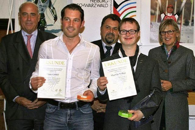 Spitzensportler aus Waldkirch in Freiburg geehrt