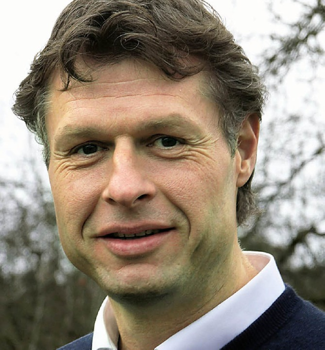Joachim Sproß, Geschäftsführer der Dieter Kaltenbach-Stiftung.  | Foto: Claudia Gabler