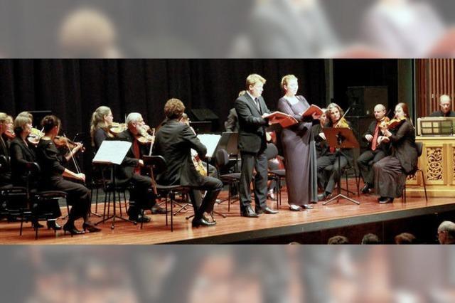 Solisten zelebrieren Glanzpunkt barocker Dialogkunst