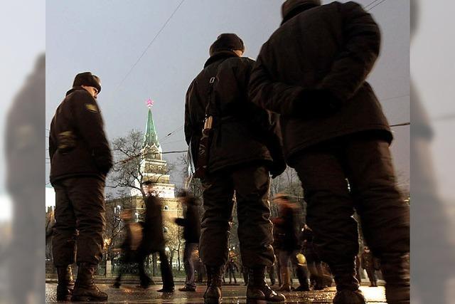 Jung, gebildet, gut gekleidet: Protest in Russland