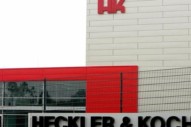 Parteispende bringt Heckler & Koch ins Zwielicht