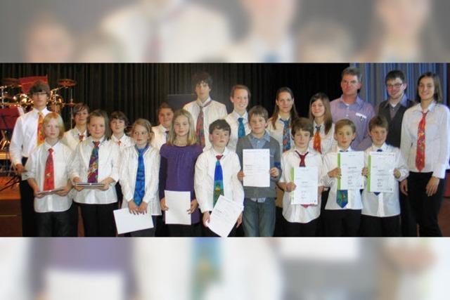 Jugendarbeit der Musiker zeigt Erfolg
