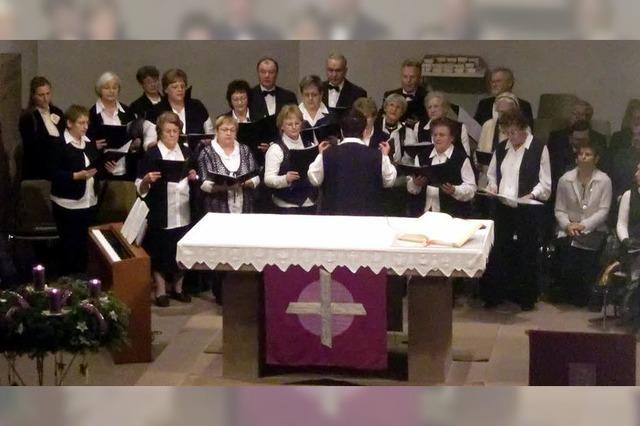 Abschiedskonzert für Chorleiterin