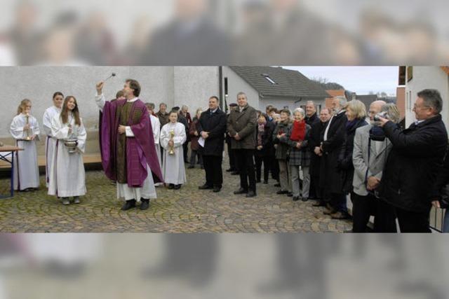 Barrierefrei hinauf zur Vituskirche
