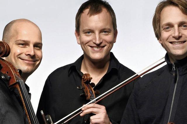 Trio Echnaton gastiert im Bürgersaal